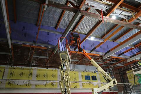 Drywall at Partitions, Inc.